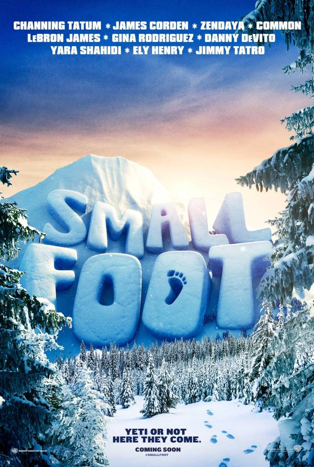 Smallfoot Teaser Poster USA