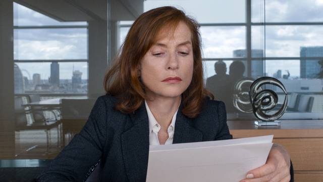 Happy End Isabelle Huppert foto dal film 1