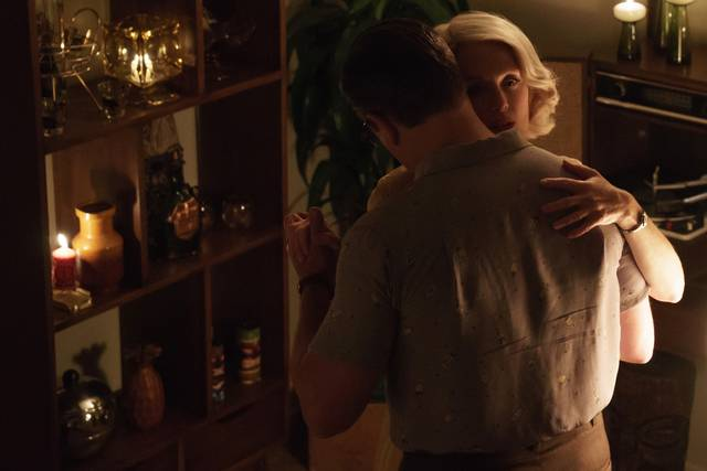 Suburbicon Julianne Moore Matt Damon foto dal film 2