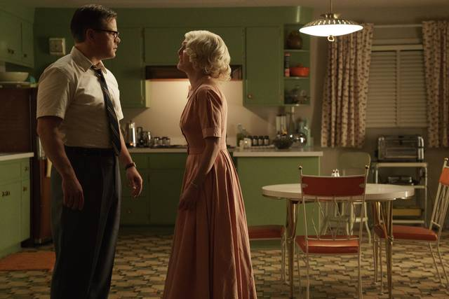 Suburbicon Julianne Moore Matt Damon foto dal film 3