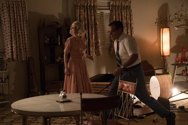 Suburbicon Julianne Moore Matt Damon foto dal film 4