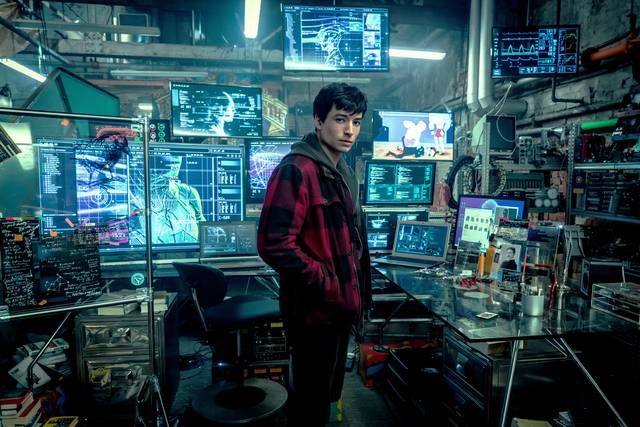 Justice League_Ezra Miller_foto dal film 1