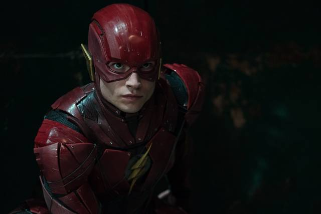 Justice League_Ezra Miller_foto dal film 3