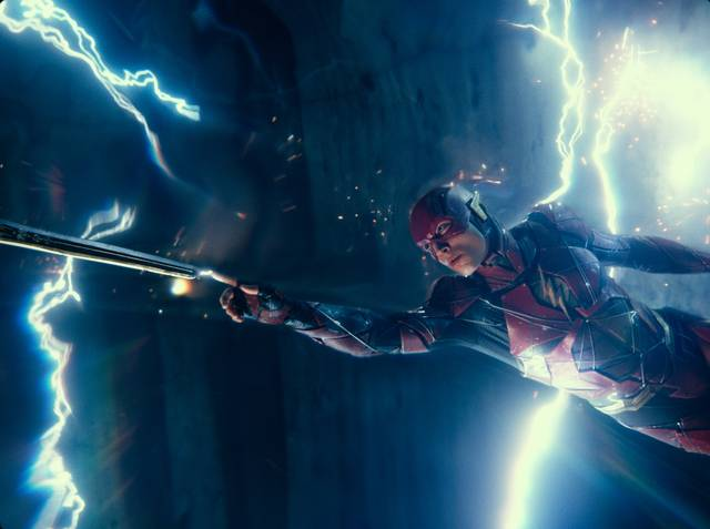 Justice League_Ezra Miller_foto dal film 6