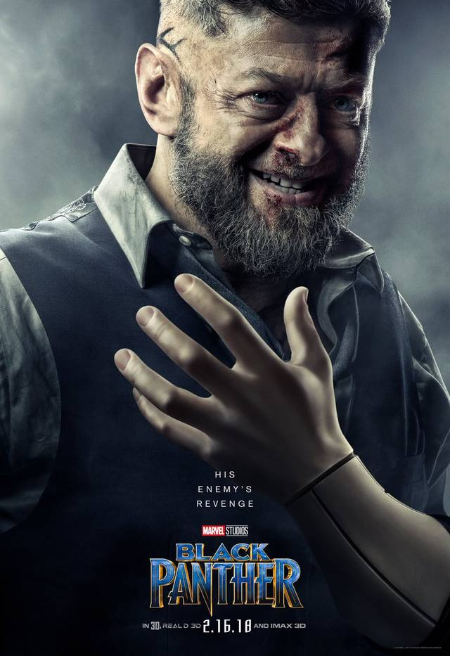 Il character poster di Ulysses Klaw