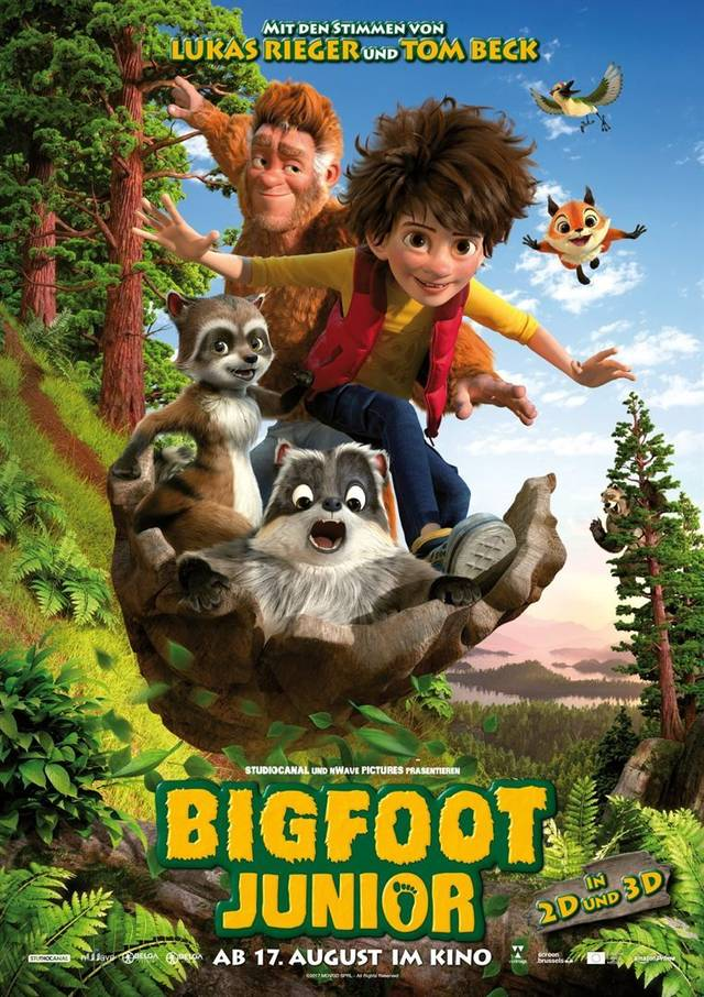 Bigfoot Junior - Teaser Poster Internazionale