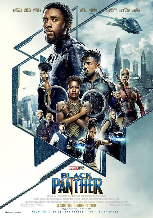 Black Panther Poster USA 2