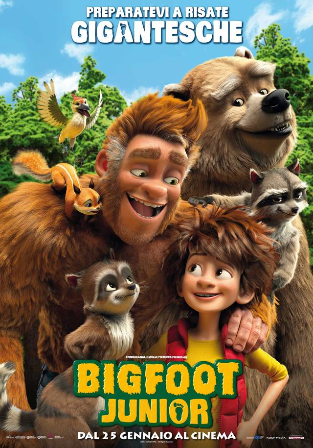 Bigfoot Junior Poster Italia