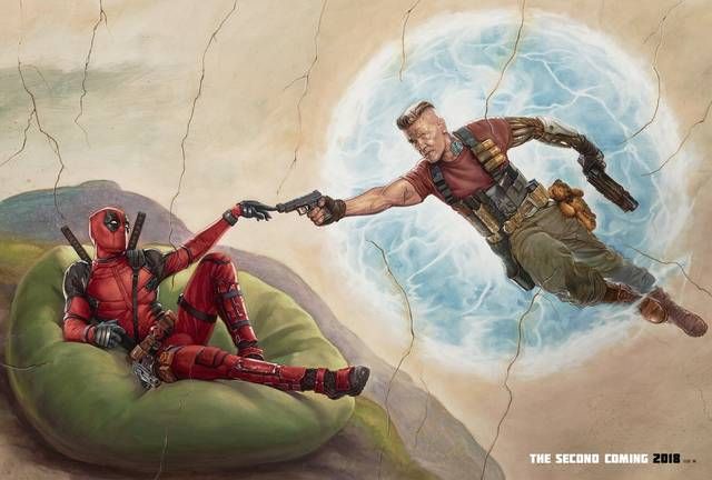 Deadpool 2 Teaser Artwork Poster Orizzontale