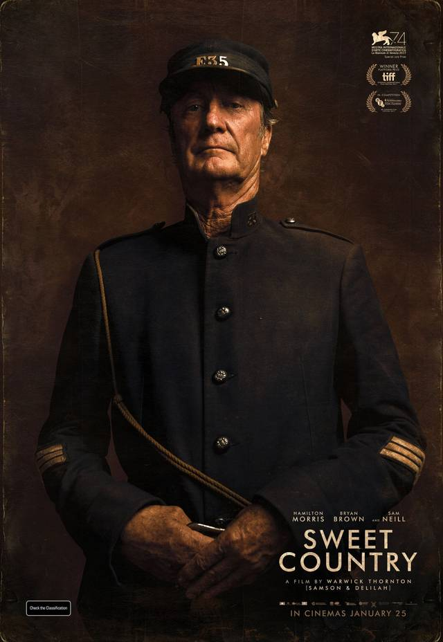 Sweet Country Teaser Character Poster USA 1