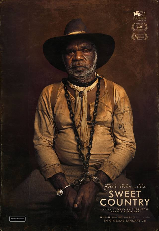 Sweet Country Teaser Character Poster USA 2