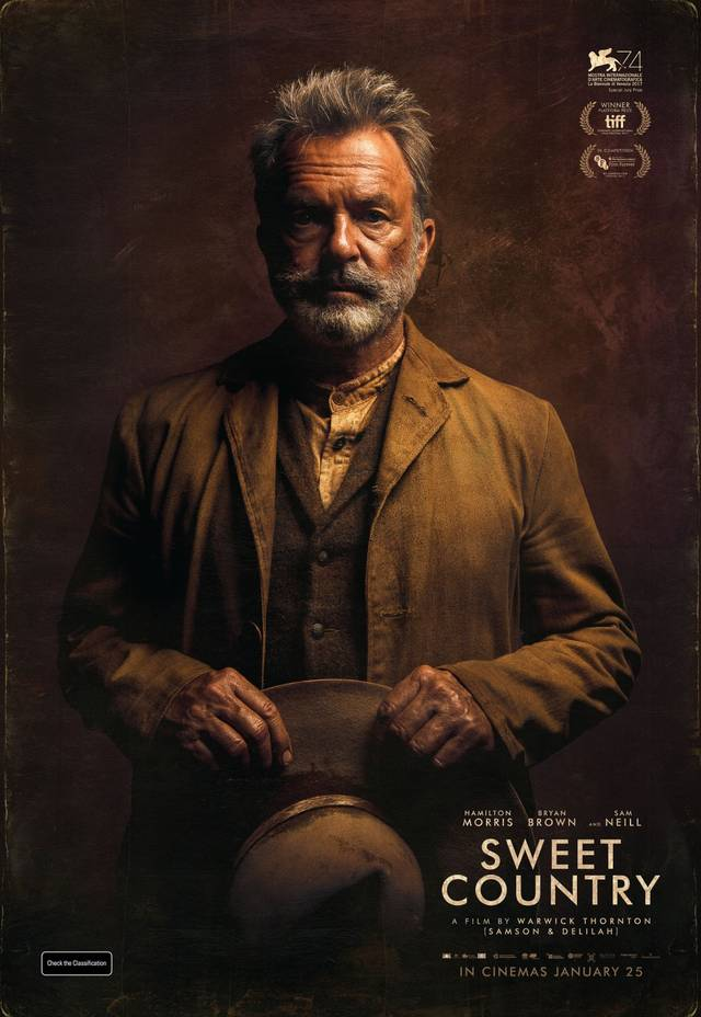 Sweet Country Teaser Character Poster USA 3