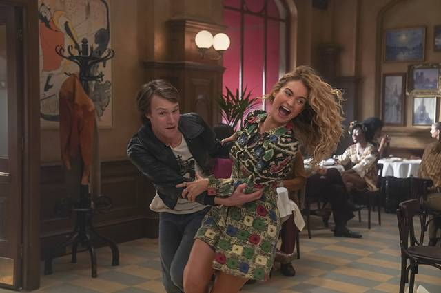 Mamma Mia - Here We Go Again Hugh Skinner Lily James  foto dal film 4