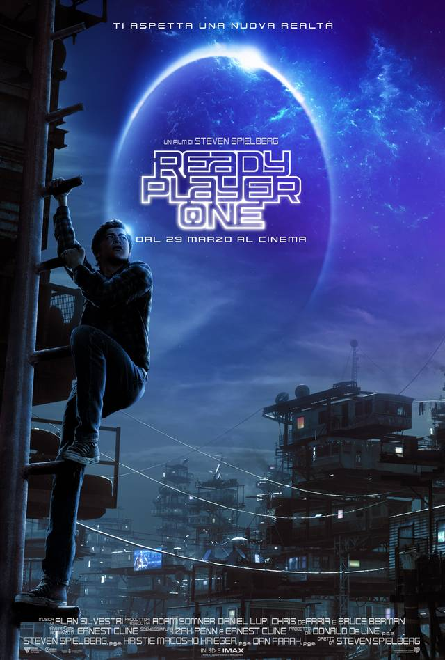 Ready Player One Teaser Poster Italia