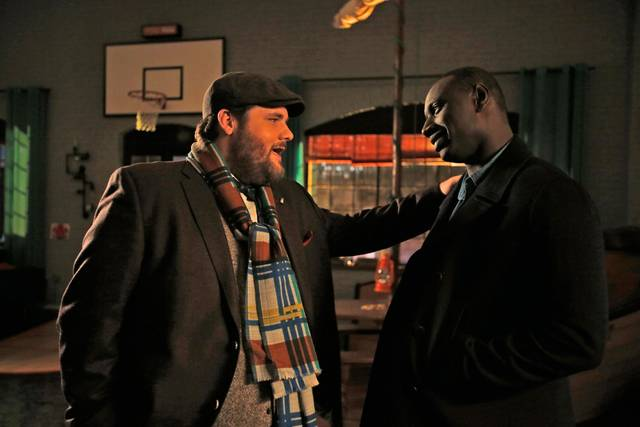 Two is a family Antoine Bertrand Omar Sy foto dal film 1