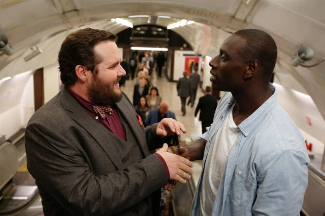 Two is a family Antoine Bertrand Omar Sy foto dal film 2