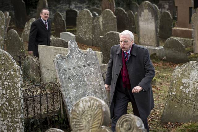 The Journey Timothy Spall Colm Meaney foto dal film 3