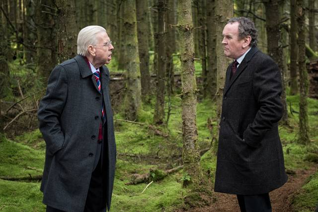 The Journey Timothy Spall Colm Meaney foto dal film 4
