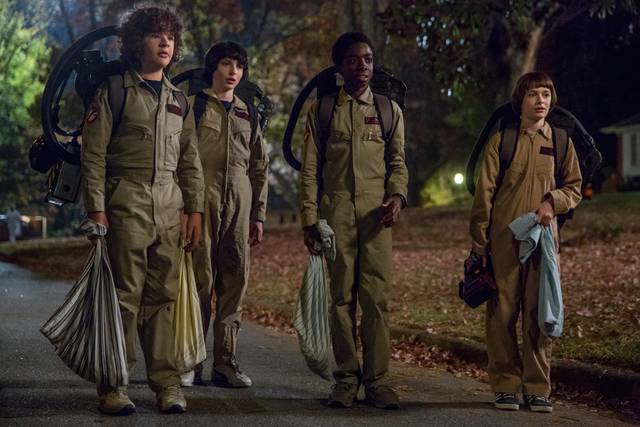 Stranger things 2 ghostbusters mid