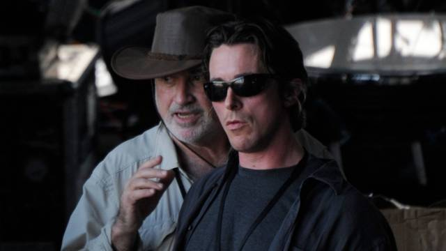 Song to Song Christian Bale Terrence Malick foto dal set
