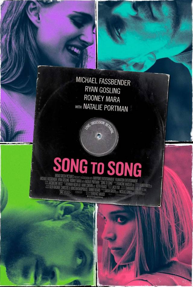 Song to Song Teaser Poster USA