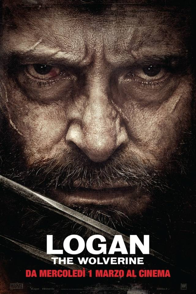 Logan - The Wolverine Teaser Poster Italia