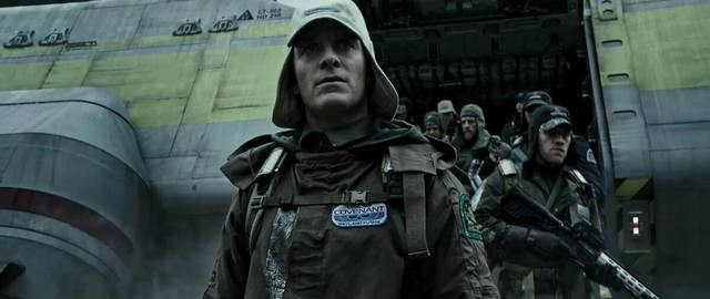 Alien Covenant Michael Fassbender foto dal film 2