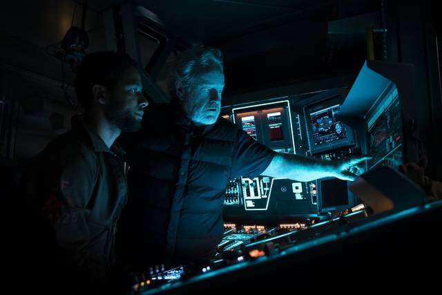 Alien Covenant Ridley Scott Jussie Smollett foto dal set 2