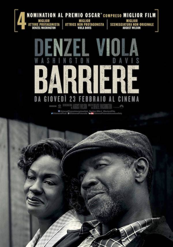 Barriere Poster Oscar Nomination Italia