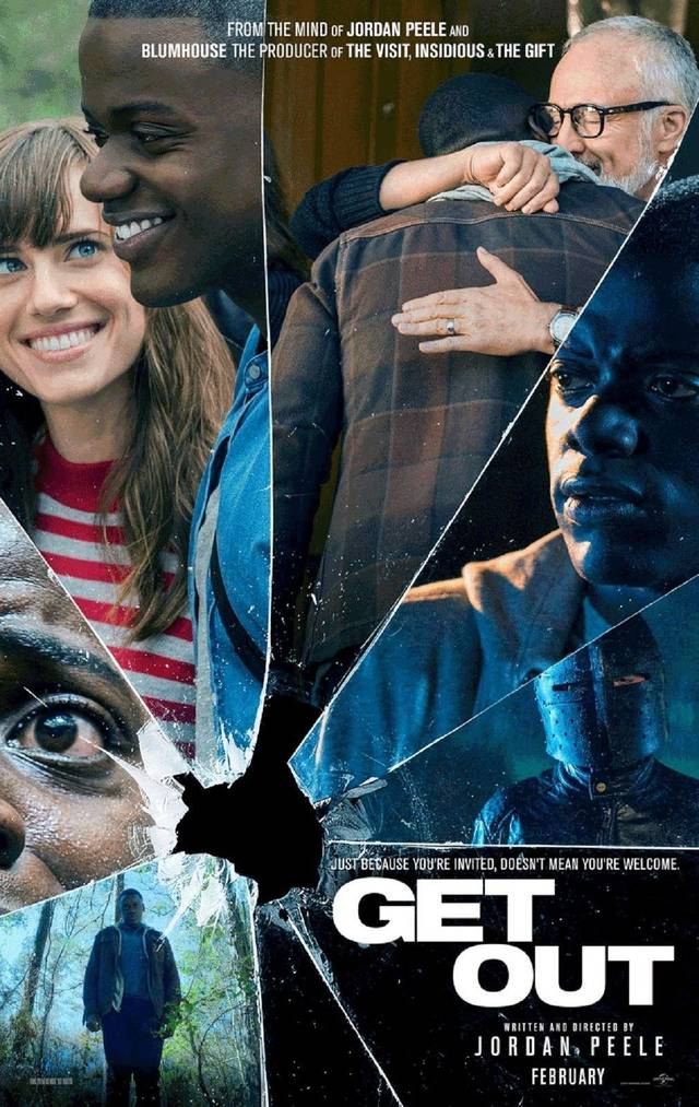 Scappa - Get out Teaser Poster USA
