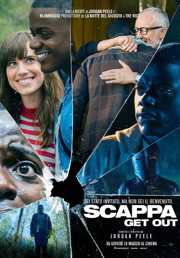 Scappa - Get out Poster Italia