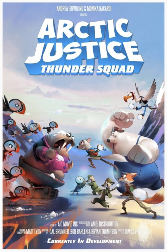 Arctic Justice Thunder Squad poster