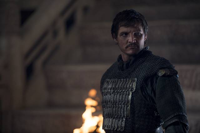 The Great Wall Pedro Pascal foto dal film 2