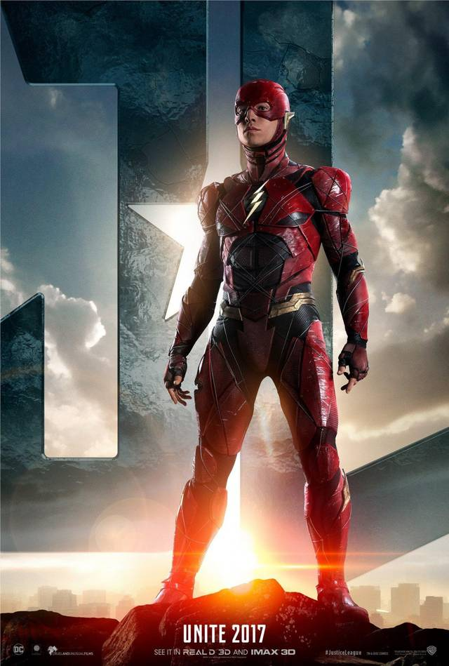 Justice League Flash Character Poster USA