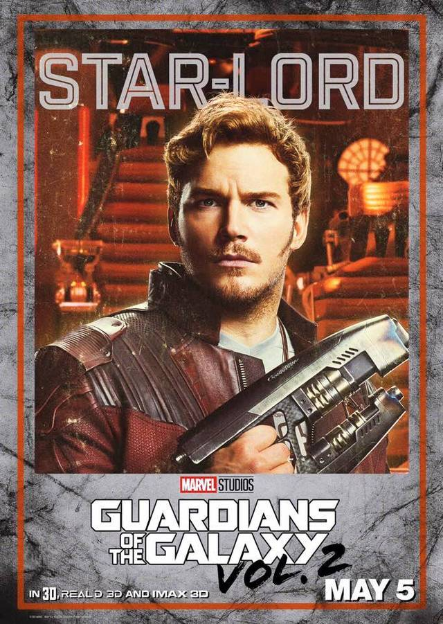 Il character poster di Star-Lord