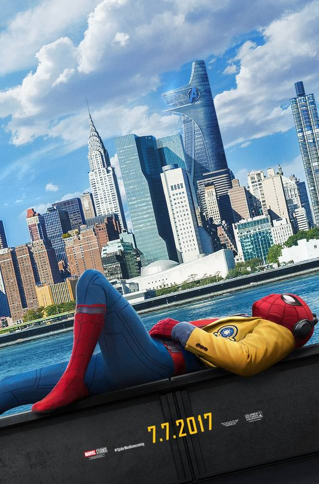 Spider-Man Homecoming Teaser Poster USA 1