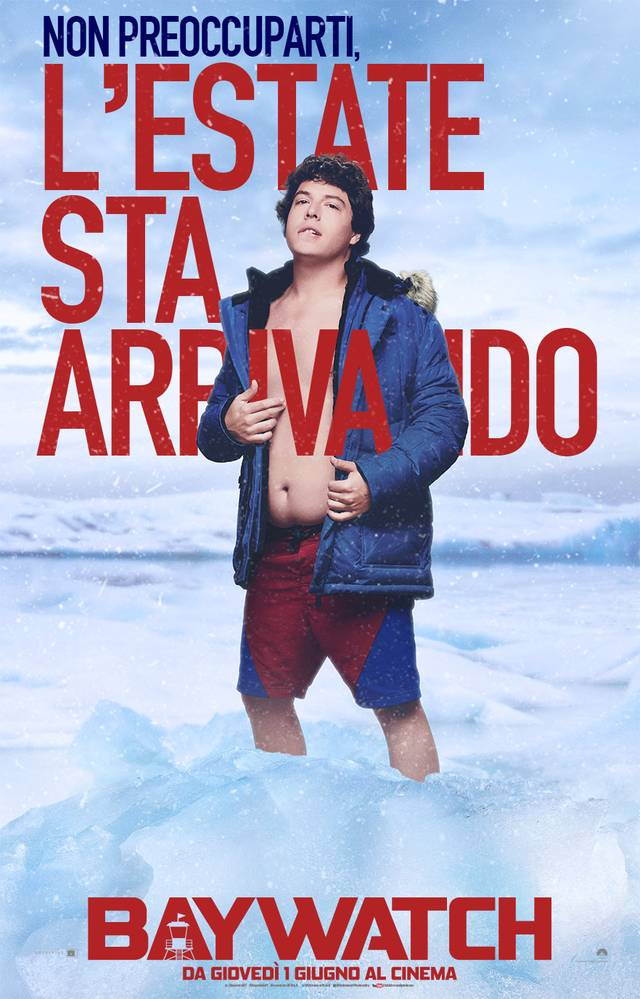 Baywatch Teaser Character Poster Italia 3