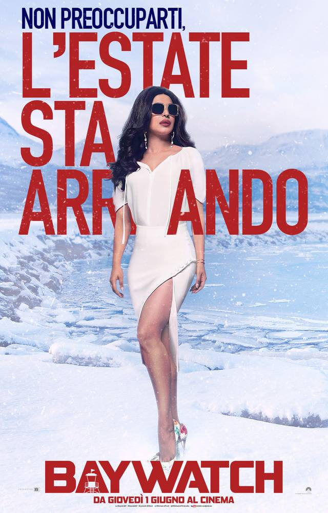 Baywatch Teaser Character Poster Italia 6