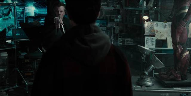 Justice League Ezra Miller The Flash Ben Affleck Batman Screenshot 1