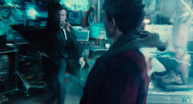 Justice League Ezra Miller The Flash Ben Affleck Batman Screenshot 2
