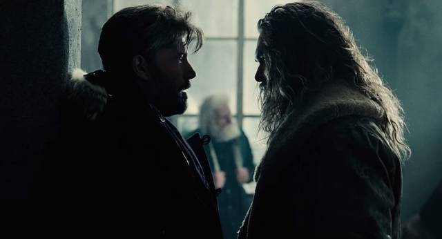 Justice League Jason Momoa Aquaman Ben Affleck Batman Screenshot 2