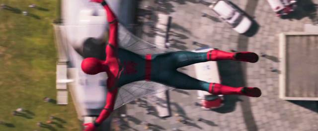 Spider-Man Homecoming Tom Holland Screenshot dal trailer 11