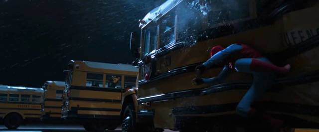 Spider-Man Homecoming Tom Holland Screenshot dal trailer 14