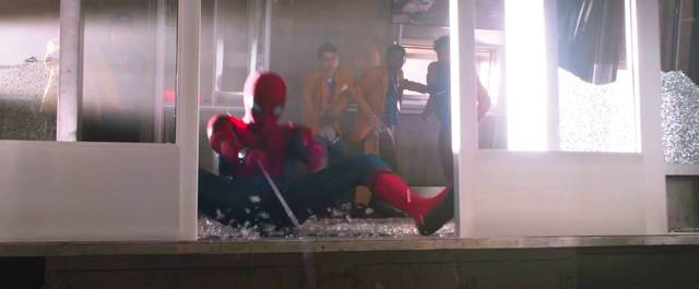 Spider-Man Homecoming Tom Holland Screenshot dal trailer 16