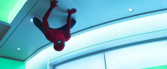 Spider-Man Homecoming Tom Holland Screenshot dal trailer 5