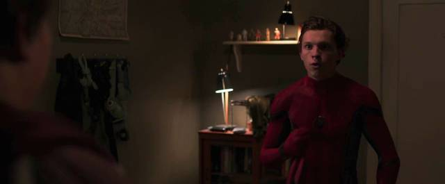 Spider-Man Homecoming Tom Holland Screenshot dal trailer 8