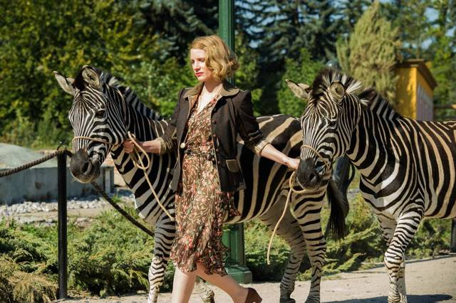 The Zookeeper's Wife Jessica Chastain foto dal film 2