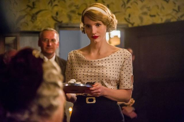 The Zookeeper's Wife Jessica Chastain foto dal film 3