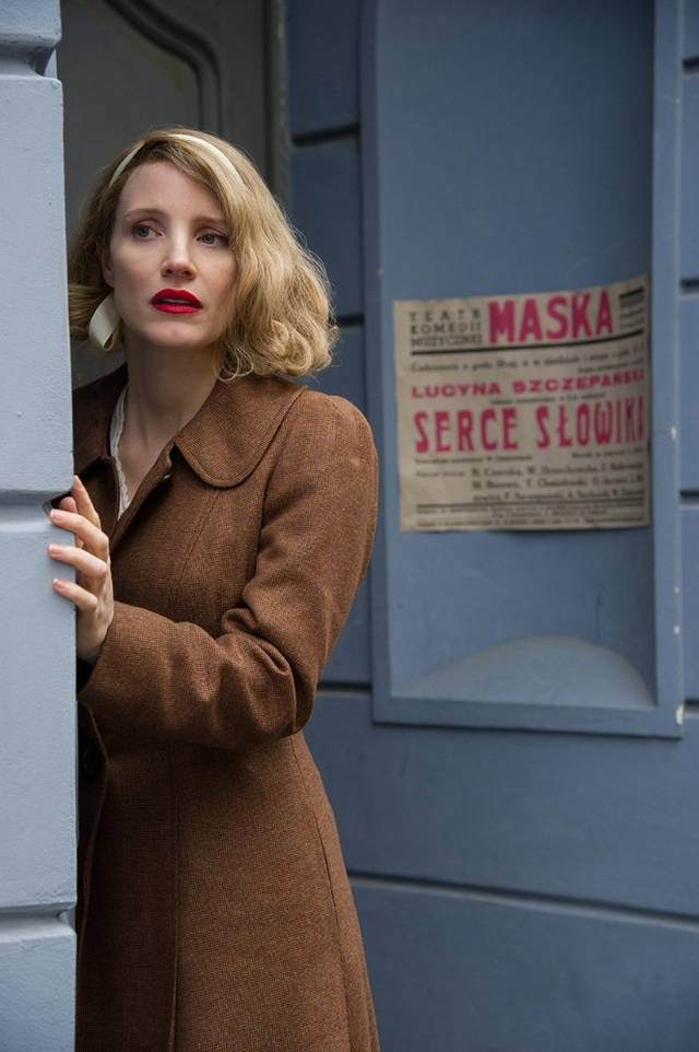 The Zookeeper's Wife Jessica Chastain foto dal film 4