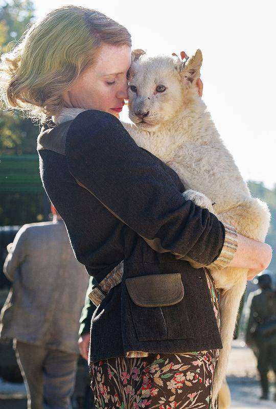 The Zookeeper's Wife Jessica Chastain foto dal film 5
